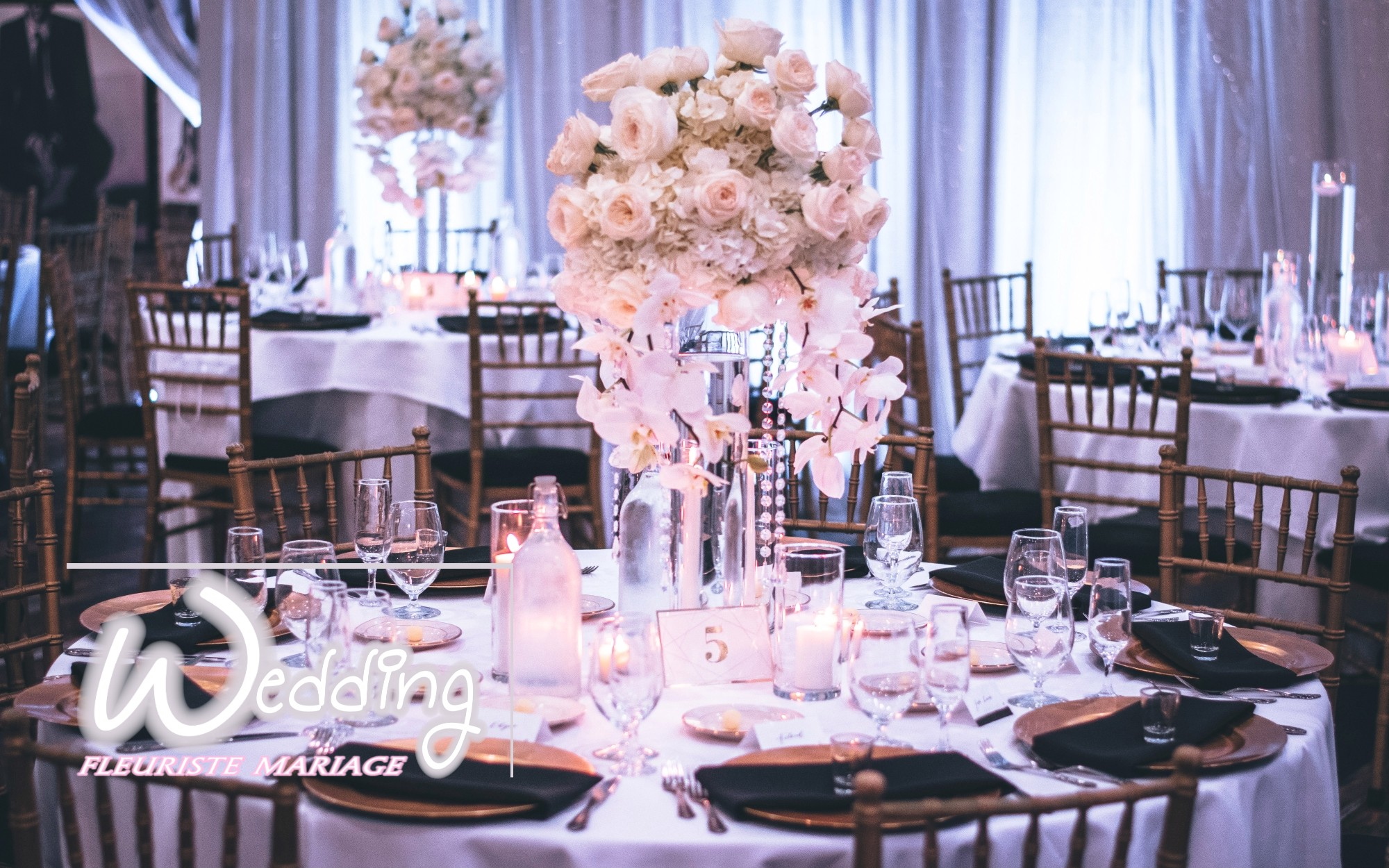 PRESTATIONS FLORALES DE PRESTIGE - WEDDING FLEURISTE MARIAGE