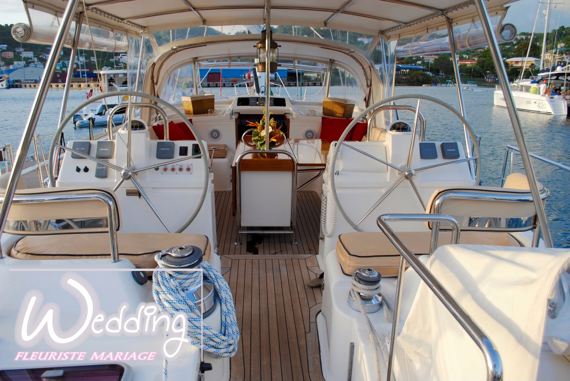 FLEURISTE POUR YACHT - YACHTING