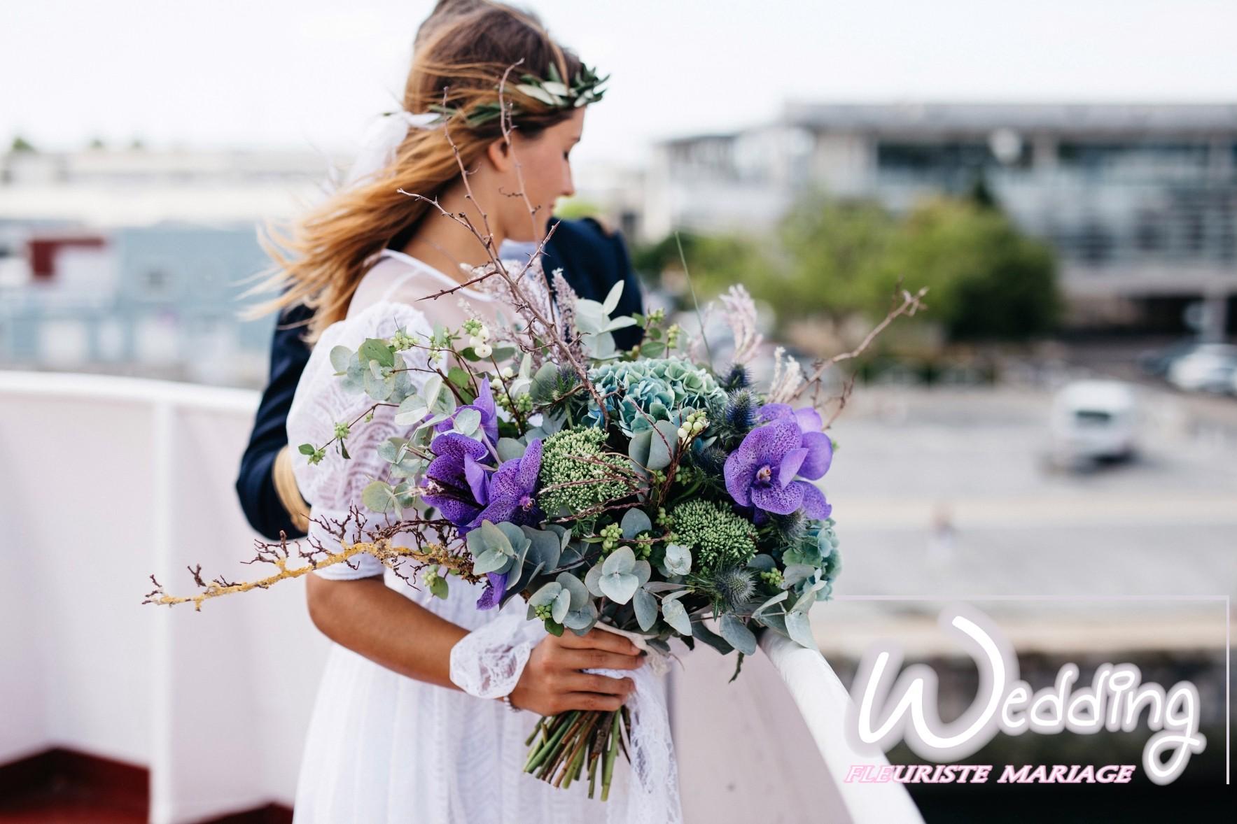 BOUQUETS DE MARIÉE MANDELIEU- WEDDING FLEURISTE MARIAGE MANDELIEU