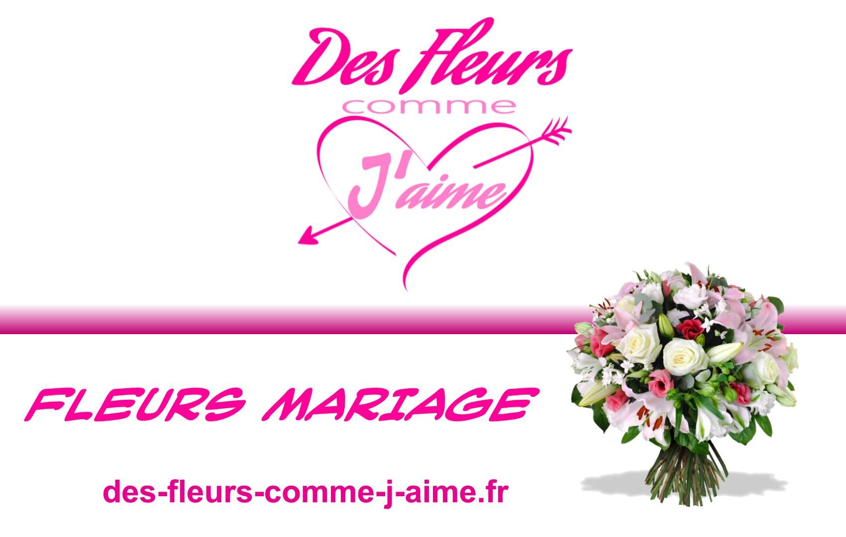 Livraison de fleurs mariage DES FLEURS COMME J'AIME