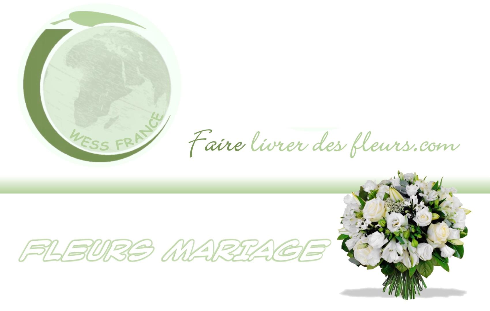 Faire livrer des fleurs pour un mariage