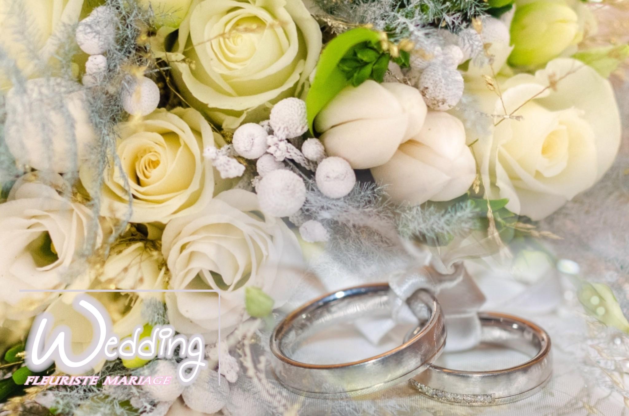 BIJOUX FLORAUX WEDDING FLEURISTE MARIAGE COUSSIN POUR ALLIANCE